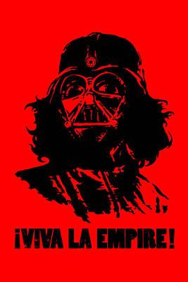 Che Digital Art - Viva La Empire by Vincent Carrozza