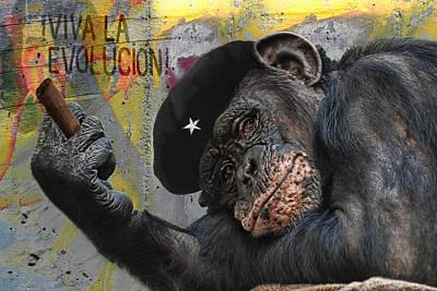 Viva La Evolucion Art Print by Joachim G Pinkawa