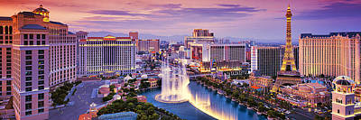 Fontain Photograph - Viva Las Vegas by Alexander Vershinin