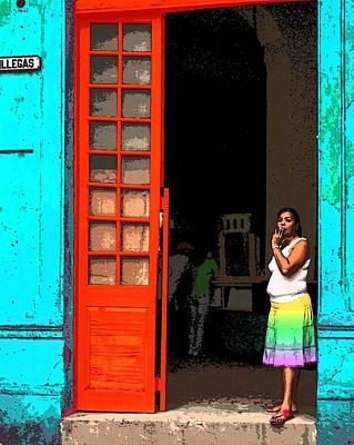 Photograph - Viva Los Colores 3 by I'ina Van Lawick