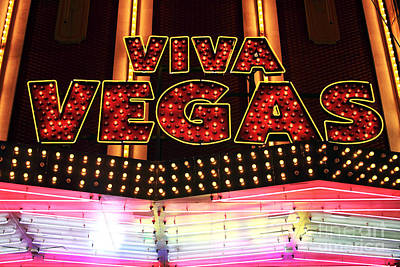 Photograph - Viva Vegas by John Rizzuto