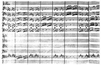 Vivaldi Manuscript Art Print by Granger