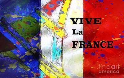 Vive La France Art Print by Brian Raggatt