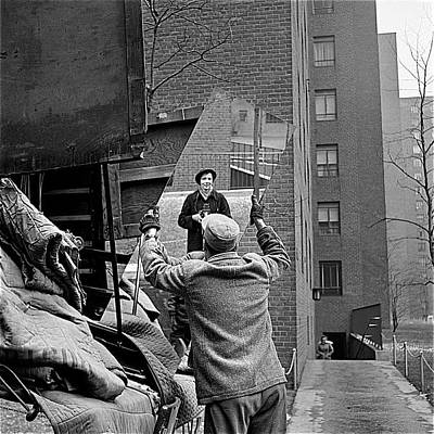 Portraits Royalty-Free and Rights-Managed Images - Vivian Maier self portrait probably taken in Chicago Illinois 1955 by David Lee Guss