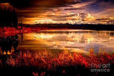 Photograph - Vivid Autum by Scott B Bennett