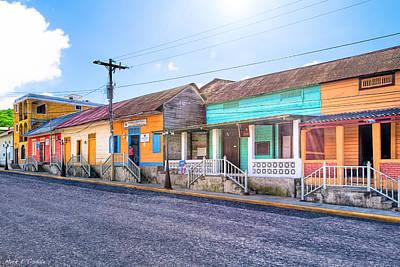 Photograph - Vivid Colors Of Nicaragua - San Juan Del Sur by Mark E Tisdale