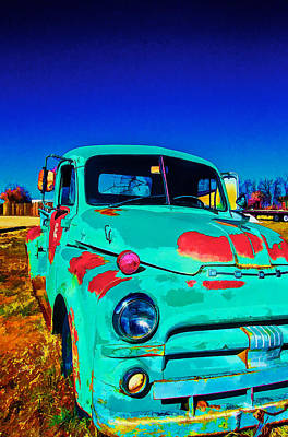 Photograph - Vivid Dodge II by Charles Muhle