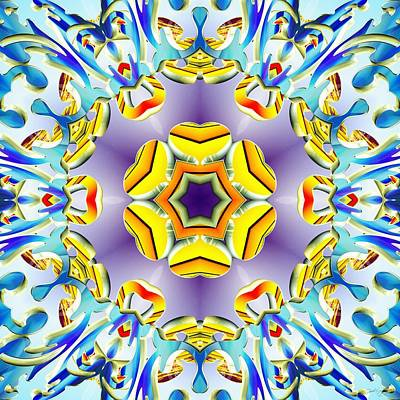 Digital Art - Vivid Expansion by Derek Gedney