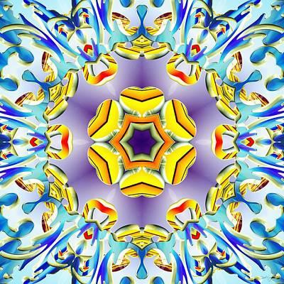 Digital Art - Vivid Expansion by Derek Gedney