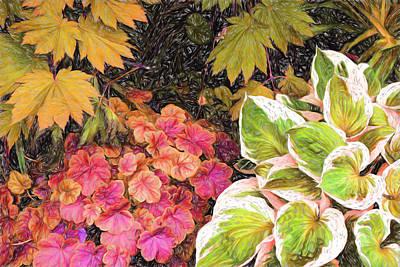 Digital Art - Vivid Flora by Terry Cork