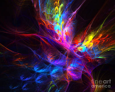 Vivid Imagination Art Print