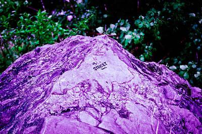 Photograph - Vivid Rock by Rhonda Barrett