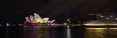 Photograph - Vivid Sydney by RSRLive Arts