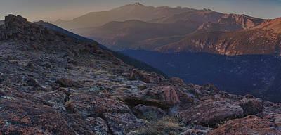 Vivid Tundra Print by Josh Baker