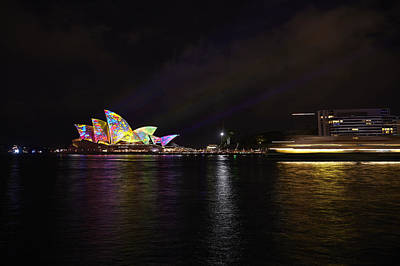 Photograph - #vividsydney by RSRLive Arts