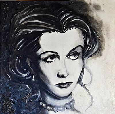 Painting - Vivien L. by Sandro Ramani