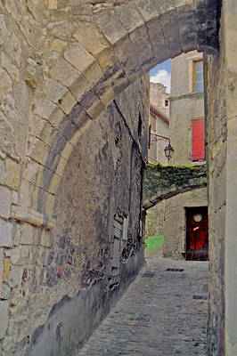 Photograph - Viviers Alley by Gene Norris