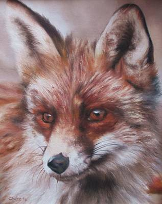 Painting - Vixen by Cherise Foster