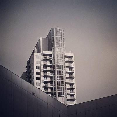 Instacnvs Photograph - Vizcayne Bldg. - Miami ( North Tower ) by Joel Lopez