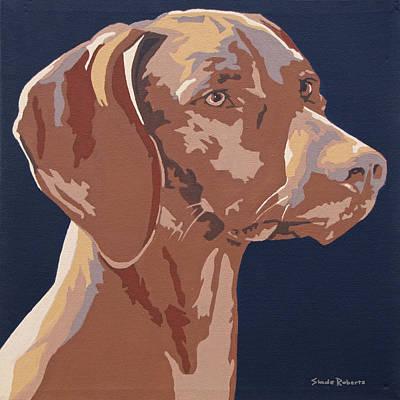 Painting - Vizsla 2 by Slade Roberts