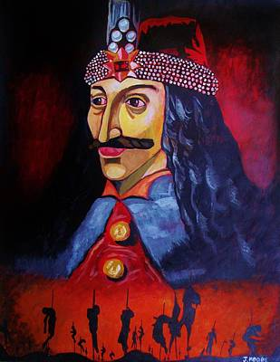Vlad Tepes Art Print