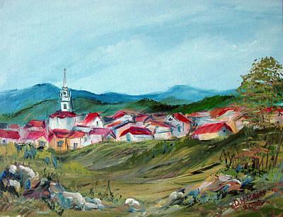 Vladeni Ardeal - Village In Transylvania Art Print