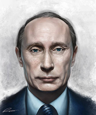 Vladimir Putin Digital Art - Vladimir Putin by Pavel Sokov