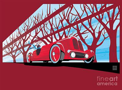 Vntage Racer Art Print