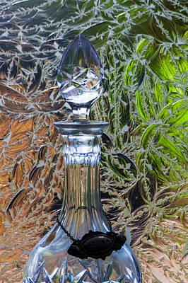 Photograph - Vodka Crystal by Ed Gleichman