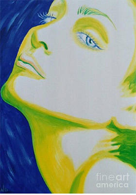 Painting - Madonna Vogue by Holly Picano