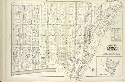 Vol. 6. Plate, S. Map Bound By Lee Ave., Flushing Ave Art Print by Litz Collection