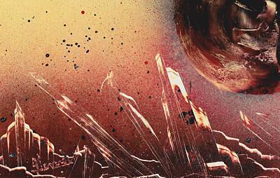 Painting - Volcanic Ash by Jason Girard