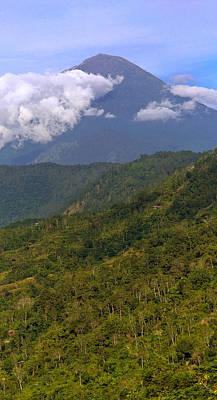 Art Print featuring the photograph Volcano - Bali by Matthew Onheiber