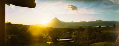 Arenal Photograph - Volcano In A Forest, Arenal Volcano by Panoramic Images