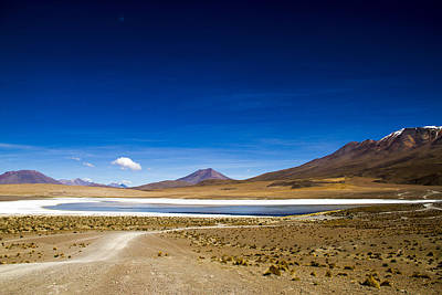 Photograph - Volcano Lagoon Bolivia by For Ninety One Days