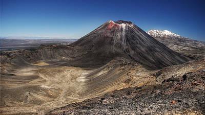 Landscape Photograph - Volcano Landscape - Mount Tongariro by Michael Duthie