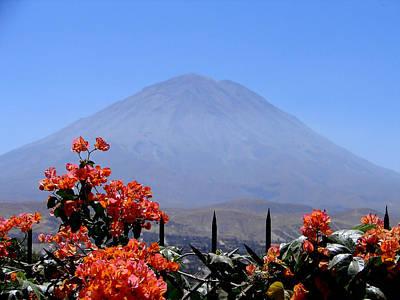 Photograph - Volcano Misti by Lew Davis