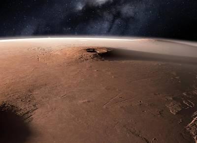 Laval Photograph - Volcano On Mars by Detlev Van Ravenswaay