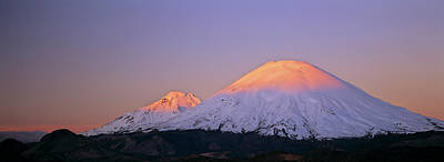 Andes Wall Art - Photograph - Volcano Parinacota (6342m by Martin Zwick