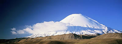 Andes Photograph - Volcano Parinacota, Chile, Are Part by Martin Zwick