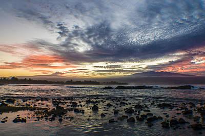 Mauna Kea Digital Art - Volcano Sunset by Josh McBride