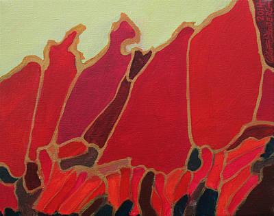 Volcano Vault Art Print