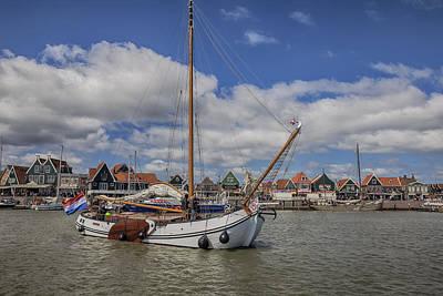 Habor Photograph - Volendam by Joana Kruse