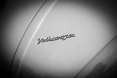 Photograph - Volkswagen Beetle Emblem by Rich Franco
