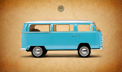 Photograph - Volkswagen Bus by Mark Rogan