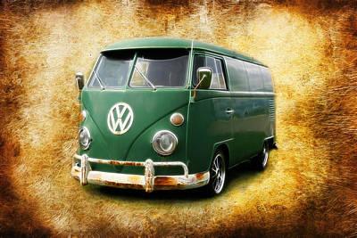 Photograph - Volkswagen Bus by Steve McKinzie