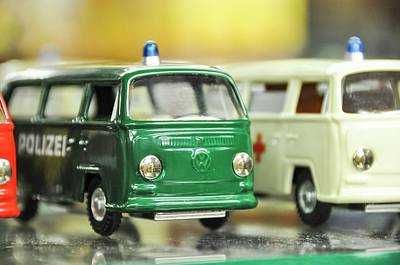Volkswagen Miniature Cars Art Print by Photostock-israel