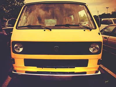 Photograph - Volkswagen Peace Van - Vanagon II by Paulette B Wright