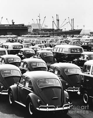 Photograph - Volkswagen Shipment by M E Warren