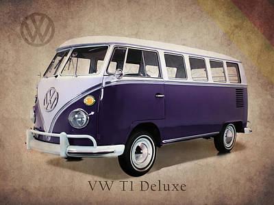 Transporter Photograph - Volkswagen T1 Bus by Mark Rogan